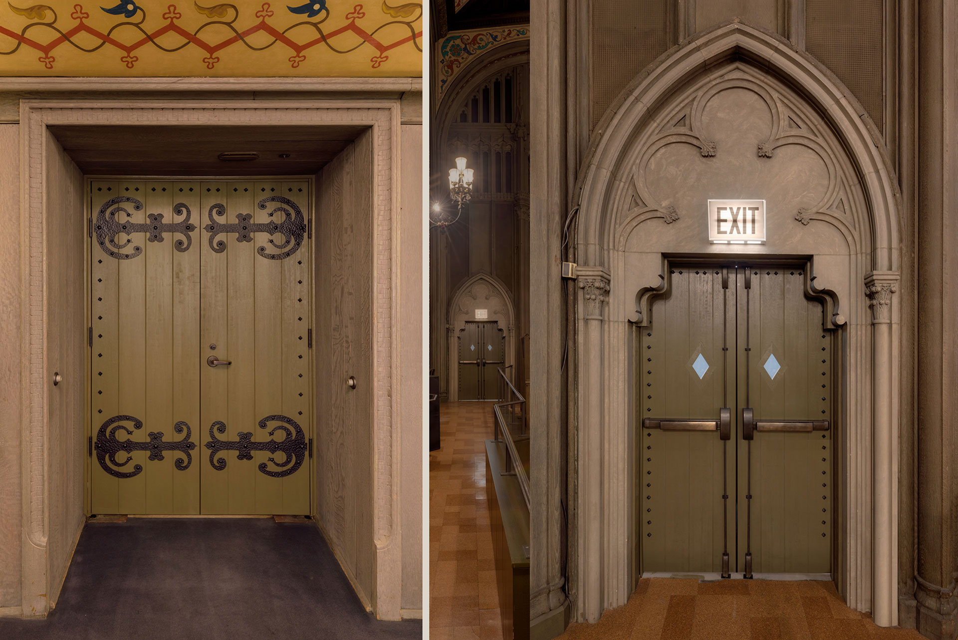 Historical Renovations Custom Entry and Interior Doors in