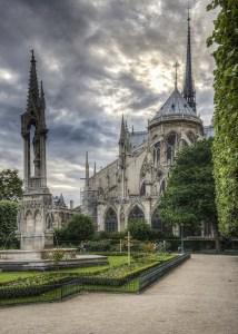 Notre Dame Courtyard