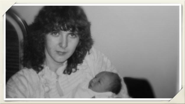 Glenys & Steven 1 day old