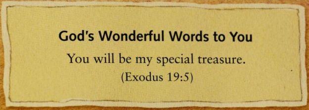 Treasure words
