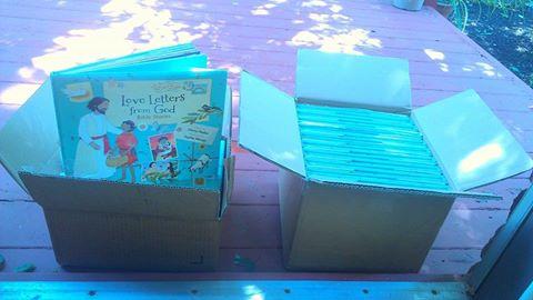 box of books!