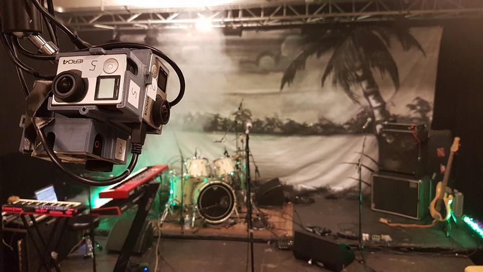 360 graden virtual reality video Gletsjer