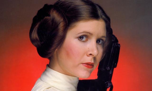 È morta Carrie Fisher la principessa Leila di Star Wars 1