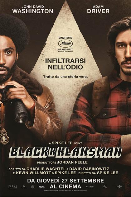 BlacKkKlansman (2018) di Spike Lee: una fo***ta storia vera 1