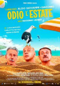 odio l'estate poster locandina cinema a gennaio