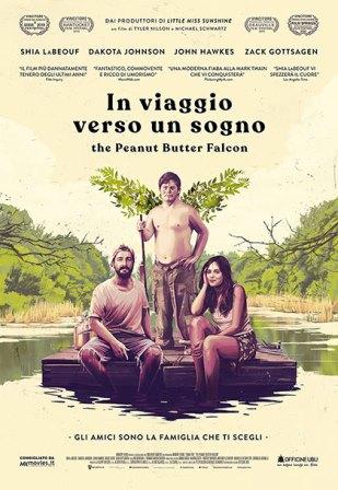 in viaggio verso un sogno the peanut butter falcon locandina film cinema a marzo 2020