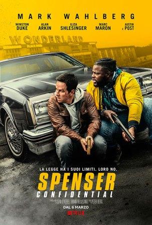 spenser confidential locandina film cinema a marzo 2020