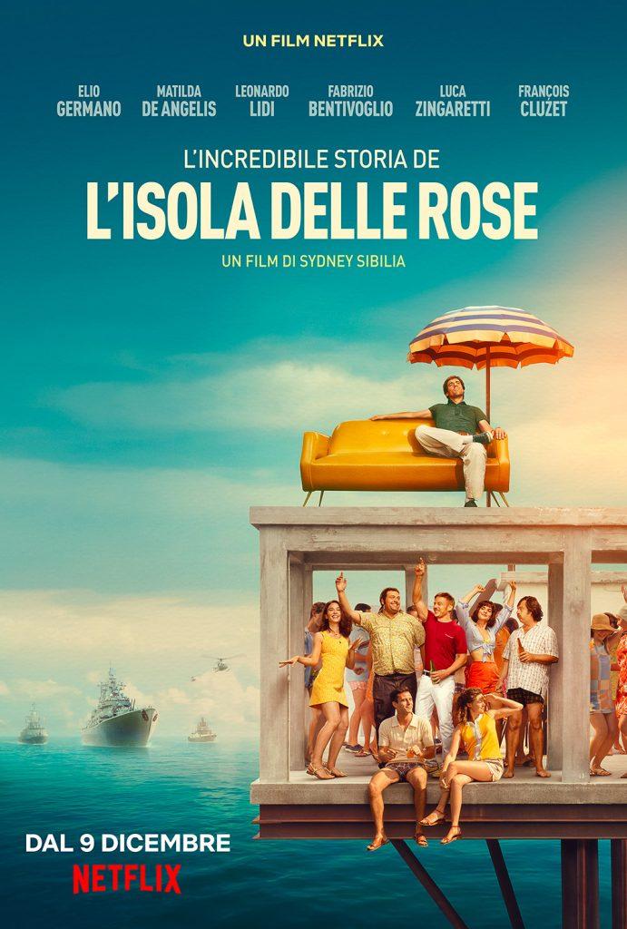 l'incredibile storia dell'isola delle rose poster