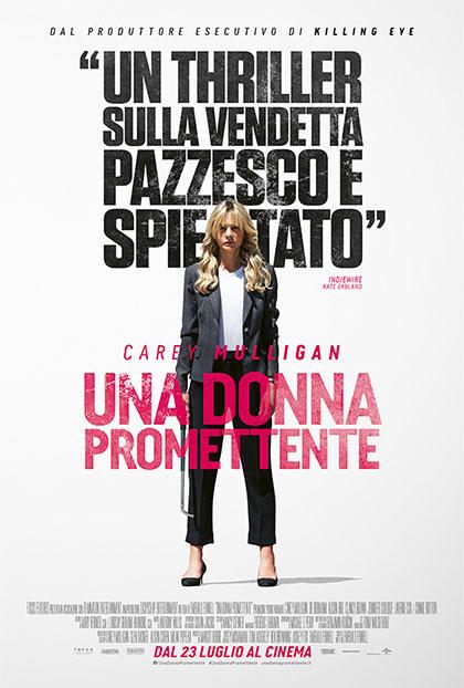 una donna promettente poster