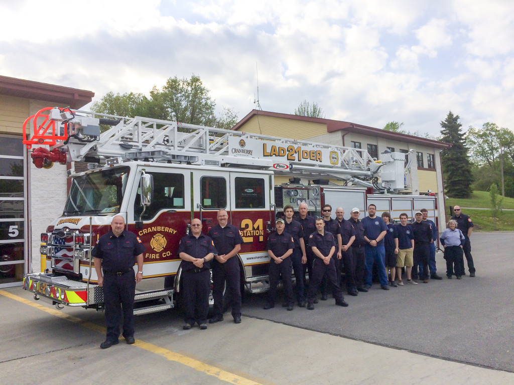 Cranberry Township Volunteer Fire Department  Acceptance Event  Glick Fire Equipment Company