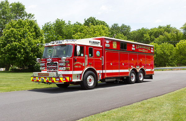 Rescue Trucks  New Deliveries  Glick Fire Equipment