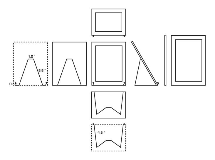 DIY iPad Stand For FREE! Homemade iPad accessory.