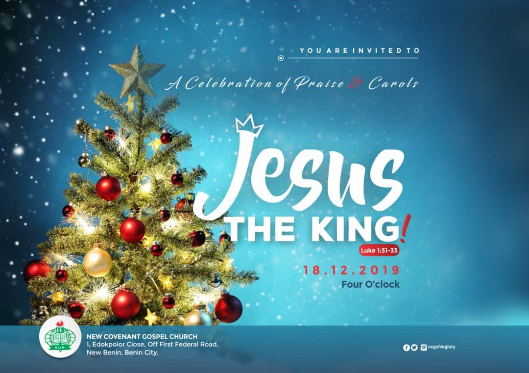 Jesus the king
