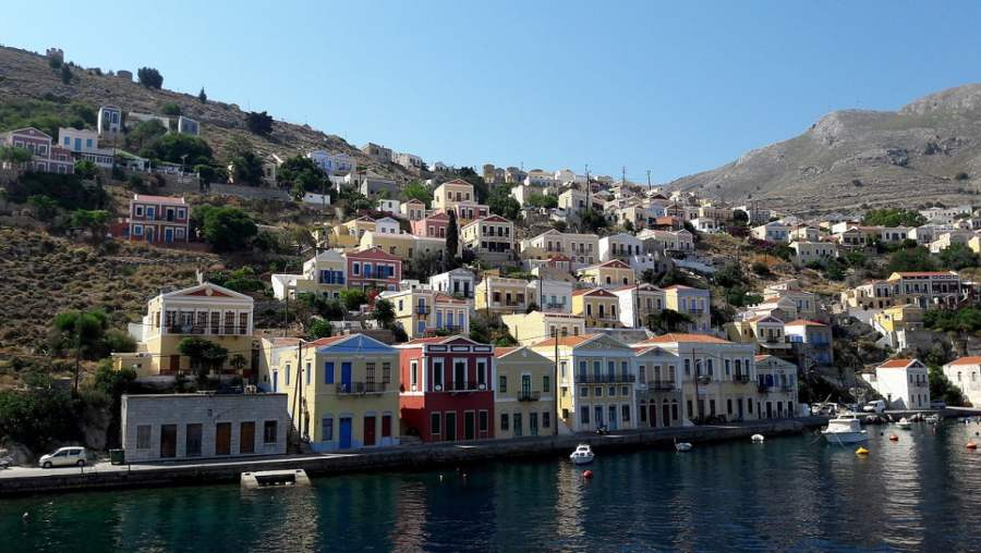 Rhodes Greece: BOAT TRIP TO SYMI ISLAND (9)