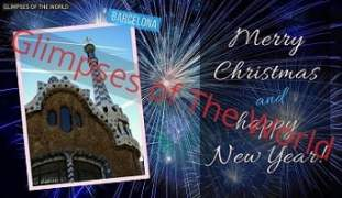 Greeting-card-Merry-Christmas-Happy-New-Year-Barcelona-Glimpses-of-The-World