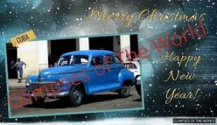 Greeting-card-Merry-Christmas-Happy-New-Year-Cuba-Glimpses-of-The-World