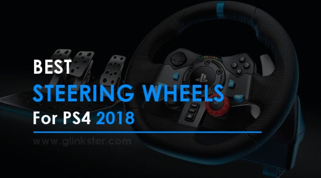Best Steering Wheels for PS4 (2018)   Racing Wheels Reviews & Deals