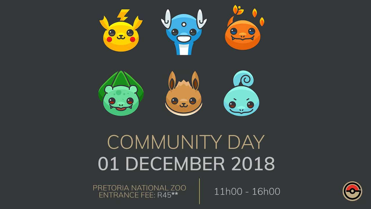 South African Pokémon GO Community Day
