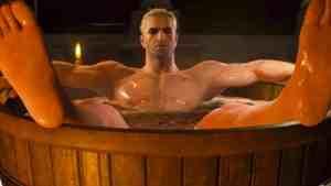 The Witcher Netflix Series Bathtub Scene