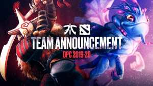Fnatic Dota 2 esports new roster DPC season