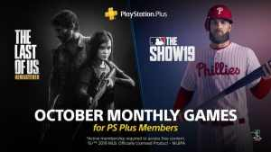 PlayStation Plus October 2019
