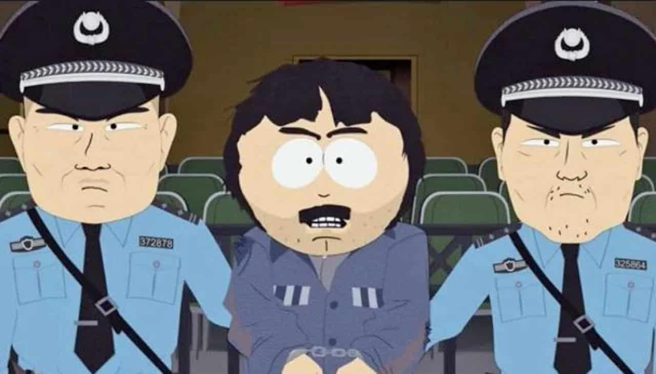 South Park banned Matt Stone Trey Parker Band in China