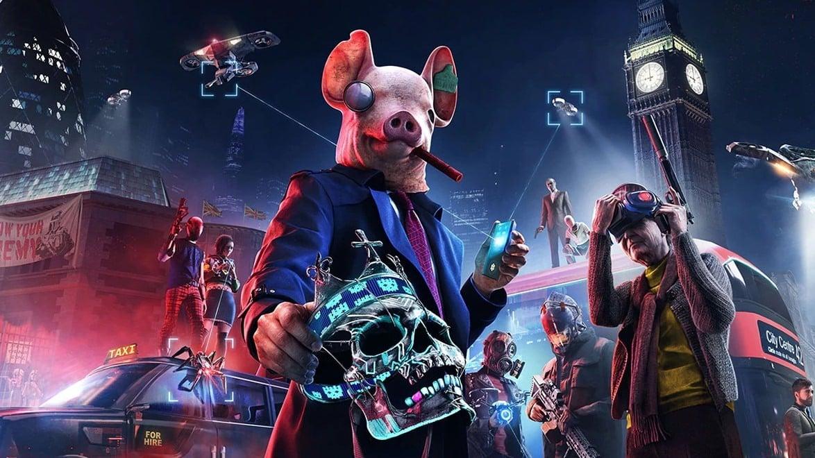 Ubisoft Watch Dogs Legion PS5 Xbox Series X Next-Gen