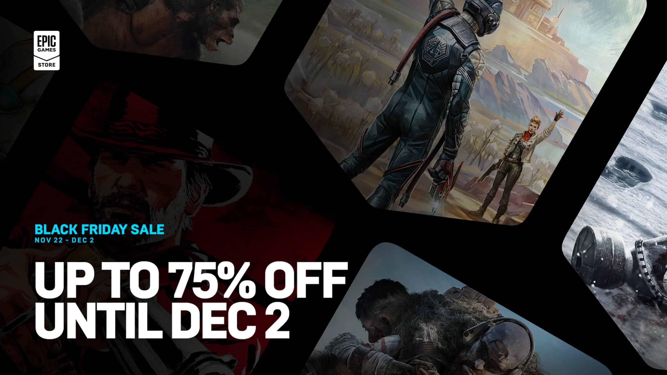 Epic Games Store Black Friday 2019 sale deals