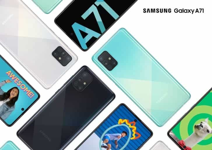 Samsung Galaxy A51 A71 Note 10 Lite South Africa