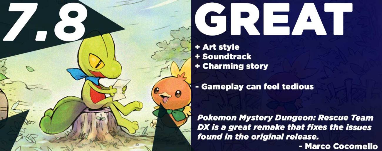 Pokemon Mystery Dungeon Rescue Team DX Review (6)