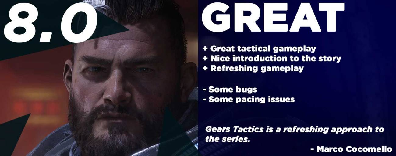 Gears Tactics Review