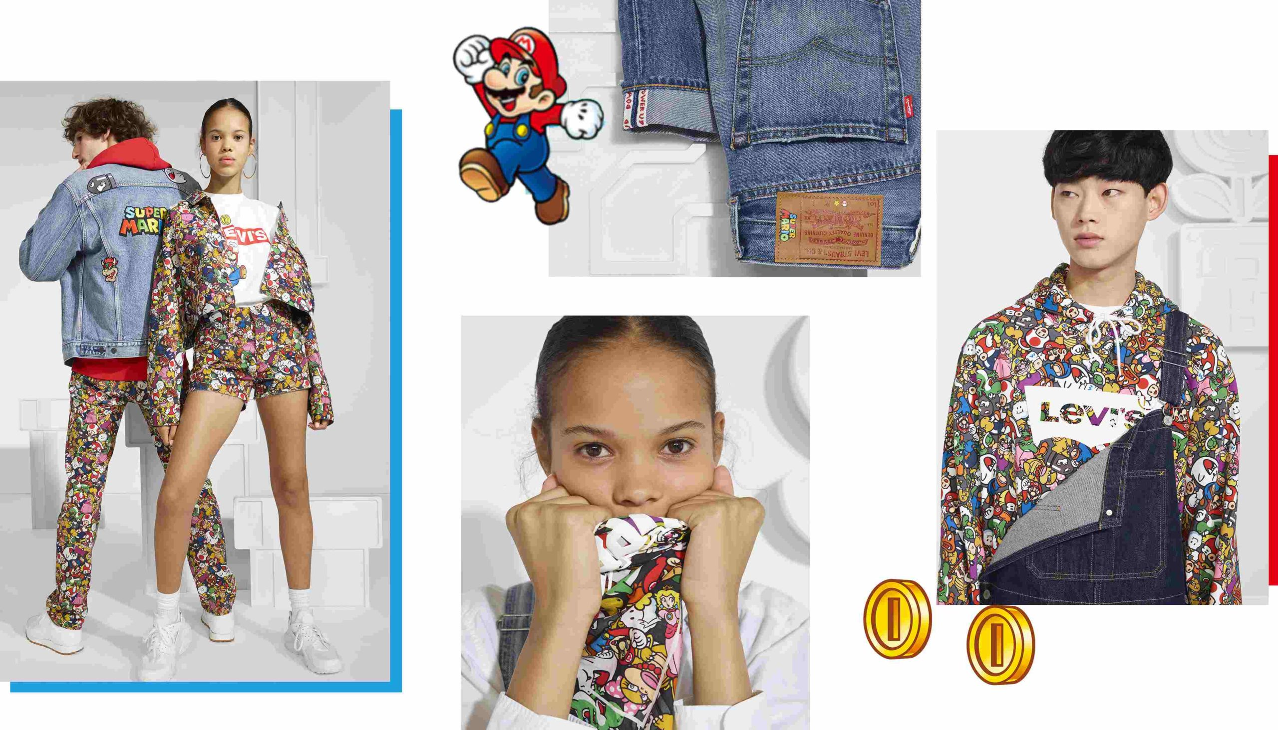 Levis Super Mario Range South Africa