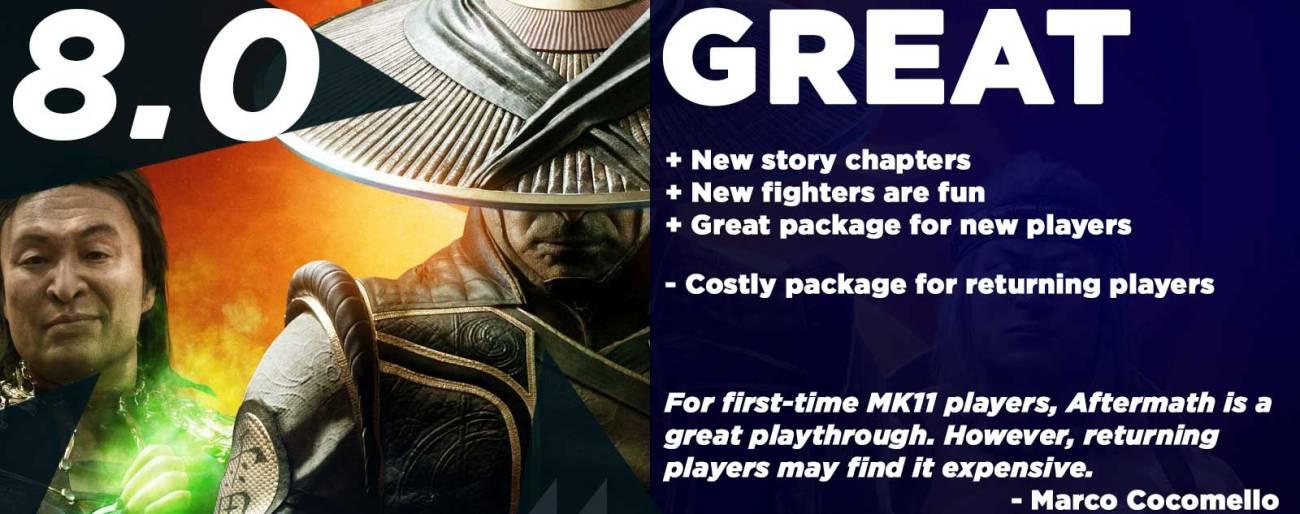 Mortal Kombat 11: Aftermath Review