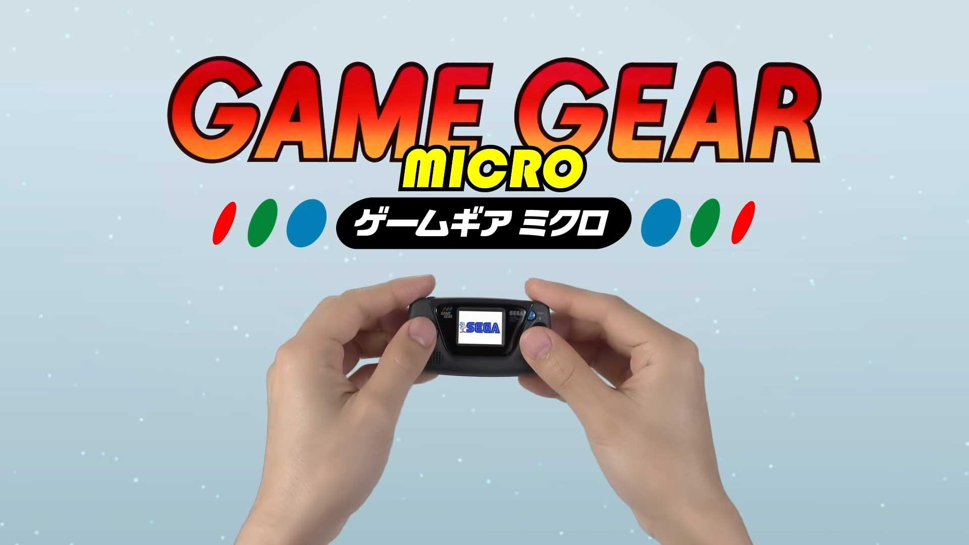 SEGA Game Gear Micro Console