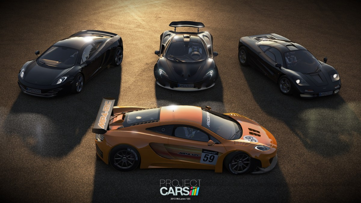 Project Cars Final Car List