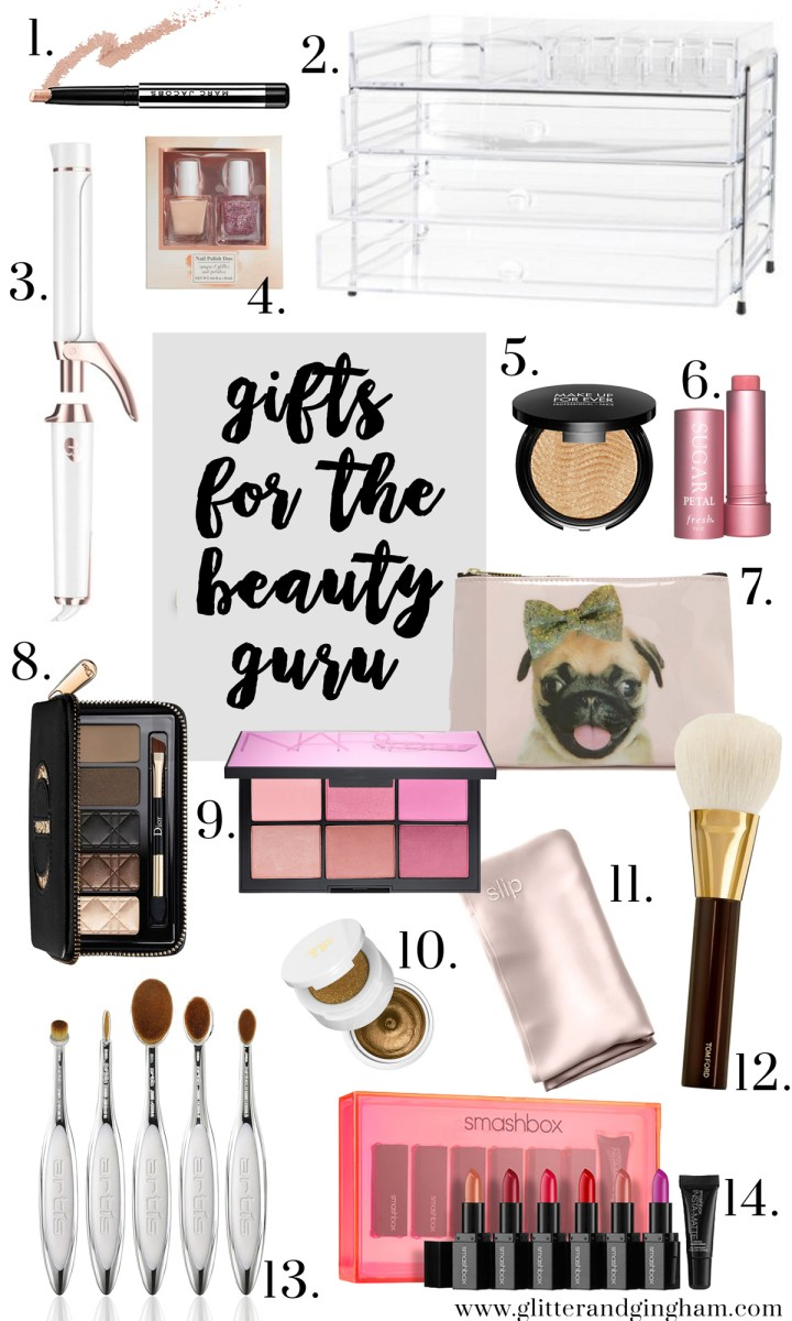 gifts for the beauty guru