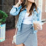girly gingham & the cutest coffee joint in lexington