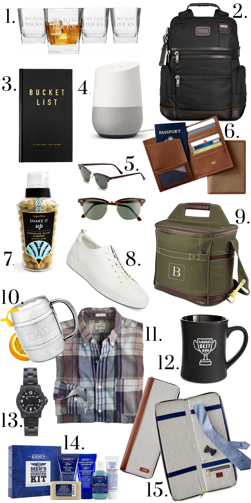 Father's Day Gift Ideas / What to buy for father's day
