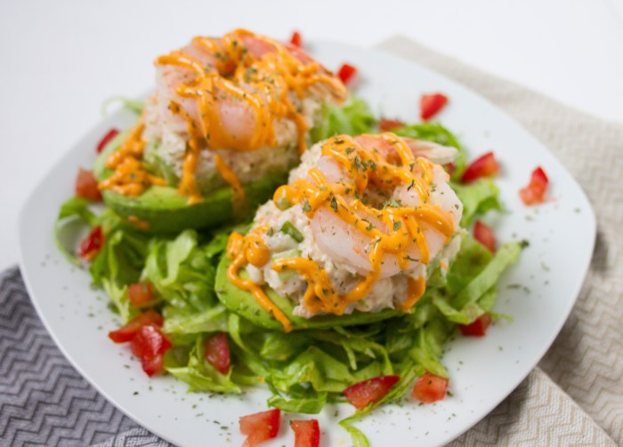 avocado shrimp salad