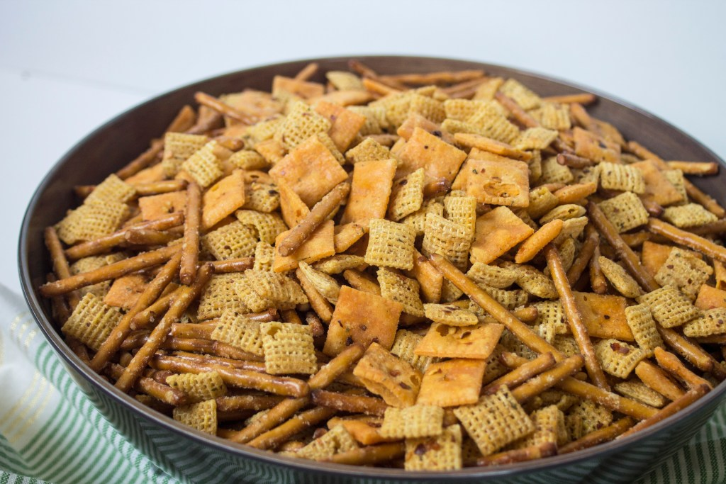 spicy ranch snack mix