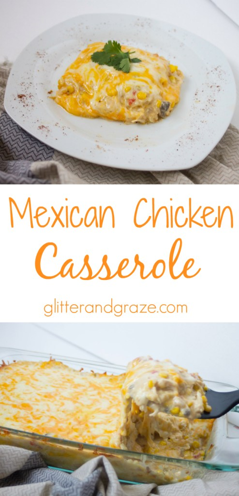 mexican chicken casserole long