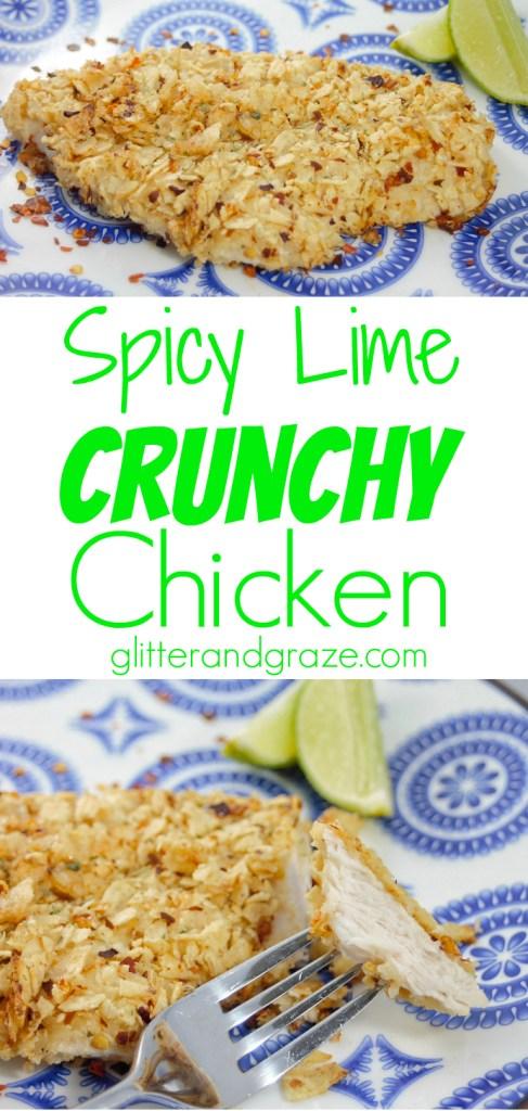 spicy lime crunchy chicken