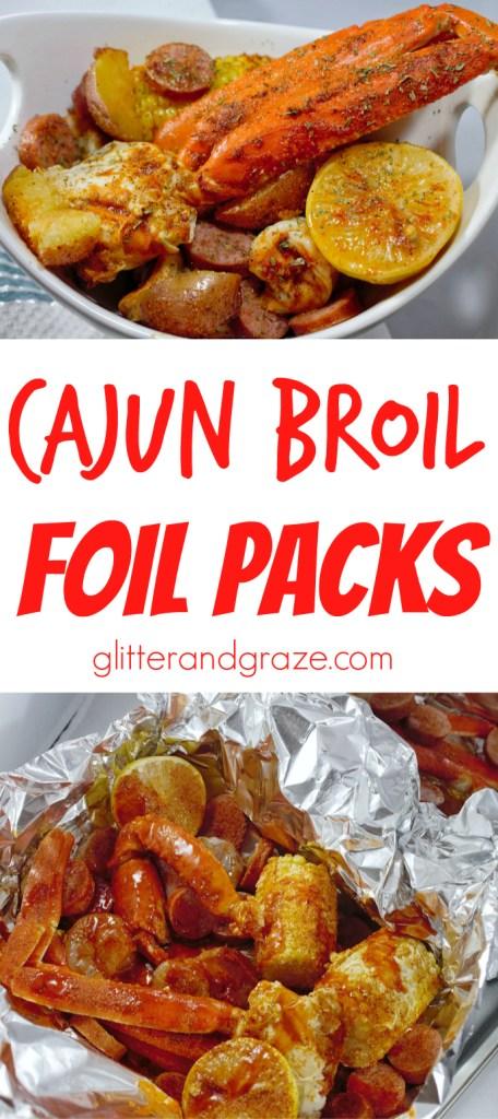 cajun broil foil packs