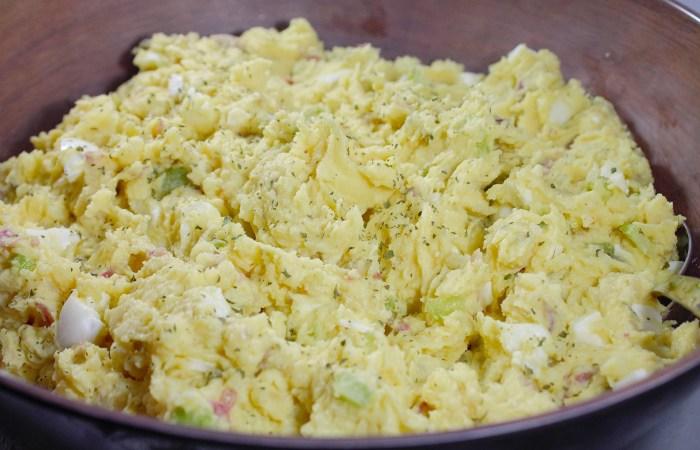 Kicked-up Potato Salad