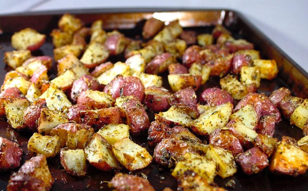 zesty potatoes