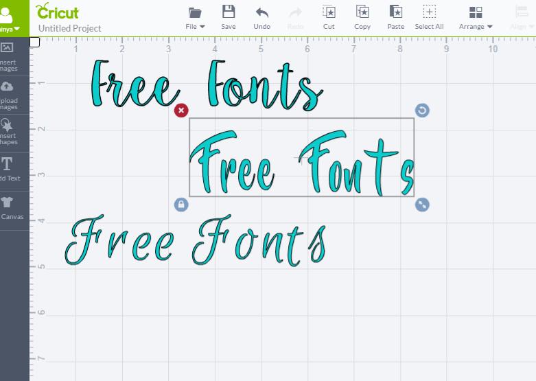 Cricut Explore Air Free Fonts Glitter And Graze