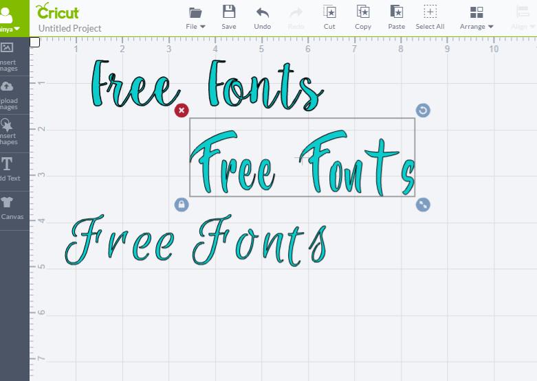 Cricut Design Space No Machine Found: Cricut Explore Air- Free Fonts - Glitter and Grazerh:glitterandgraze.com,Design