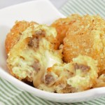 Spicy Sausage Mashed Potato Bombs