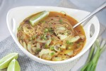 Spicy Asian Chicken Noodle Soup