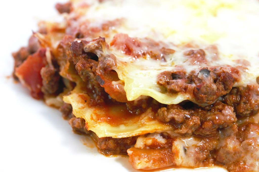 lasagna without ricotta